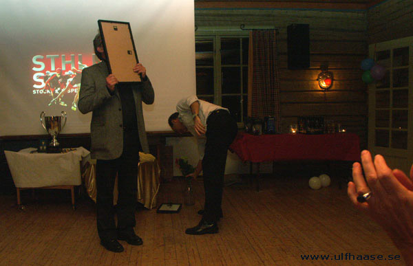 Stockholm Speedskaters Grand Award 2006.