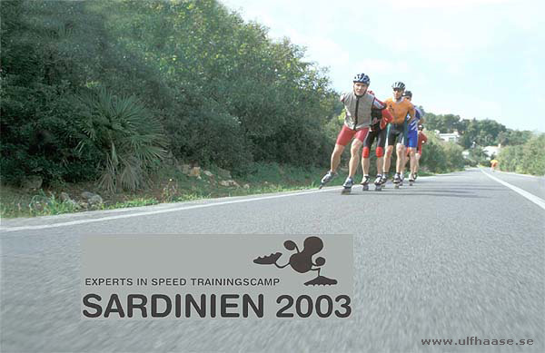 Techniquetraining with Tommy Ulbrich (day 2). Sardinia 2003.